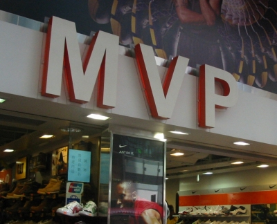 MVP - also the name of a shoe shop in Hong Kong
