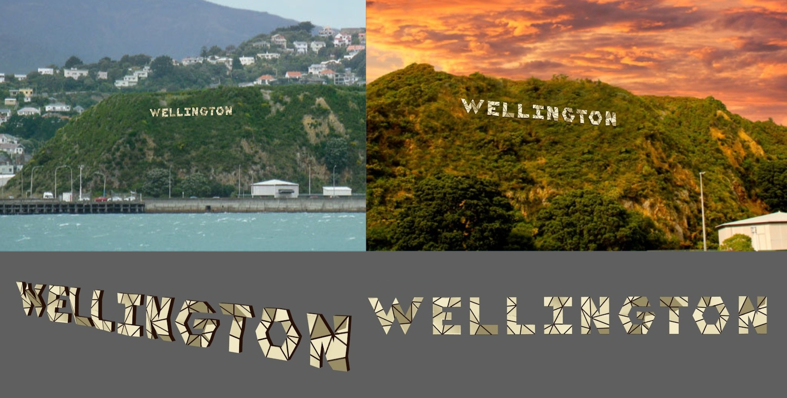 Proposed Wellington sign montage - version 1